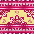 Sun Dance Pattern von Eligo-Design