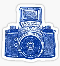 Giant East German Camera - Navy Blue Sticker