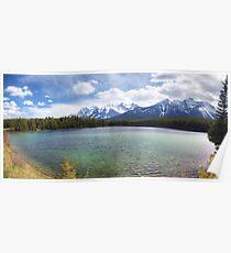 Herbert Lake panorama Poster