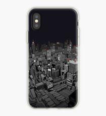 Vinilo o funda para iPhone paisaje de la ciudad