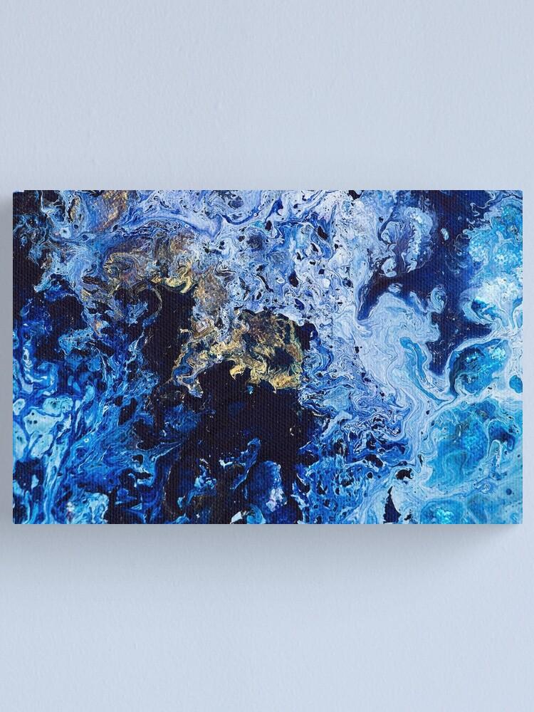 Alternate view of Lapis Lazuli Canvas Print