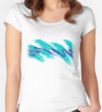 Jazz Solo Paper Cups Women's Fitted Scoop T-Shirt