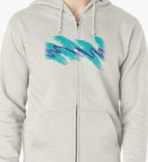 Jazz Solo Paper Cups Zipped Hoodie
