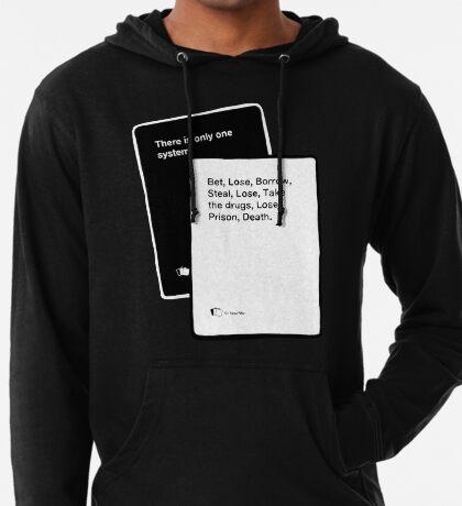 Black Books System Lightweight Hoodie