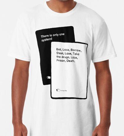 Black Books System Long T-Shirt