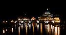 Ponte Sant'Angelo, Rome by George Parapadakis ARPS (monocotylidono)