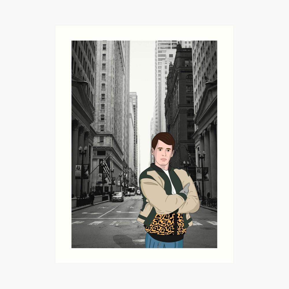 Ferris Chicago Kunstdruck