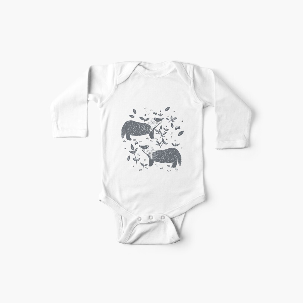 Badgers Baby One-Piece