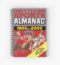 Grays Sports Almanac Complete Sports Statistics 1950-2000 Spiral Notebook