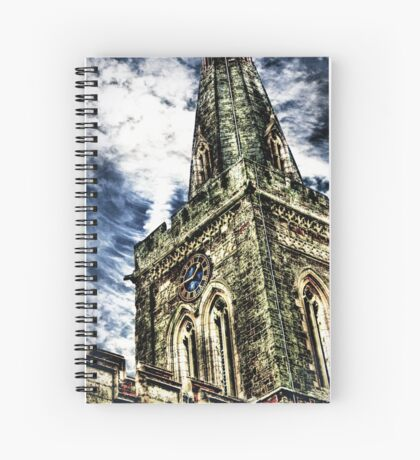 St Marys Church Tower (HDR)  Spiral Notebook