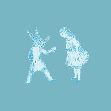 Alice and the White Rabbit by adrienne75