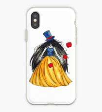 Who is the mad hatter ? Snow White | Blanche Neige  iPhone Case