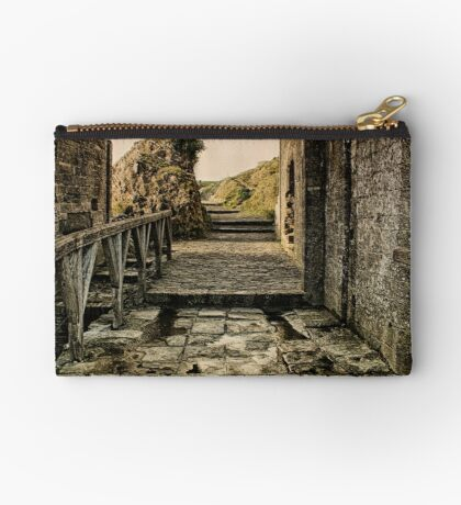 Steps back in Time Zipper Pouch