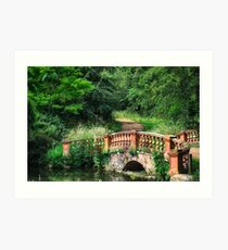 The Terracotta Bridge Art Print