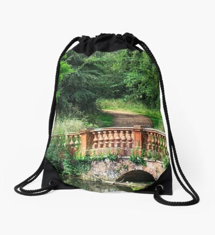 The Terracotta Bridge Drawstring Bag
