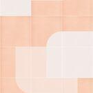 Retro Tiles 04 #redbubble #pattern by designdn