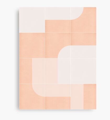 Retro Tiles 04 #redbubble #pattern Canvas Print
