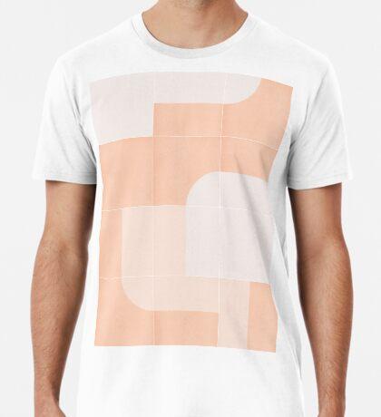 Retro Tiles 04 #redbubble #pattern Premium T-Shirt