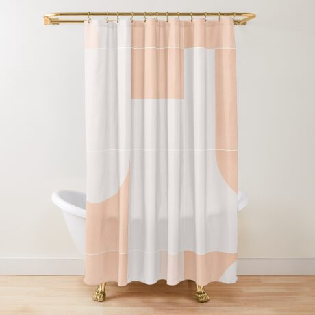 Retro Tiles 05 #redbubble #pattern Shower Curtain