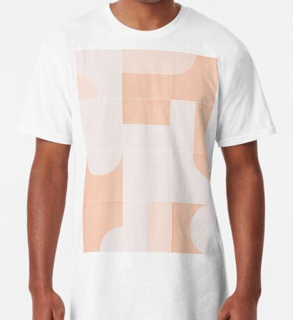 Retro Tiles 05 #redbubble #pattern Long T-Shirt