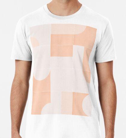 Retro Tiles 05 #redbubble #pattern Premium T-Shirt