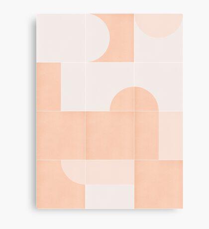 Retro Tiles 06 #redbubble #pattern Canvas Print