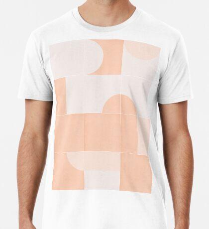 Retro Tiles 06 #redbubble #pattern Premium T-Shirt
