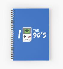 I Love the 90's Spiral Notebook