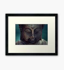 Buddha meditation Framed Print