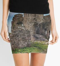 Castle In Ruins Mini Skirt