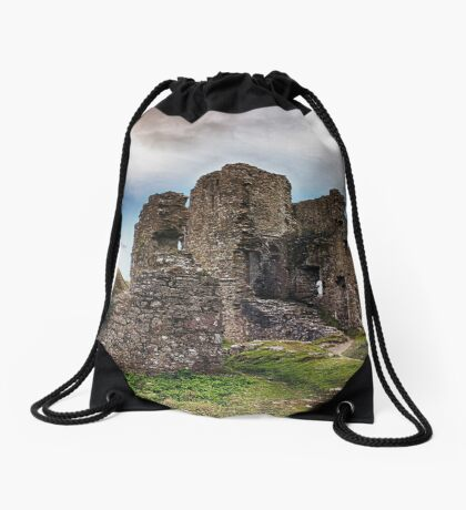 Castle In Ruins Drawstring Bag