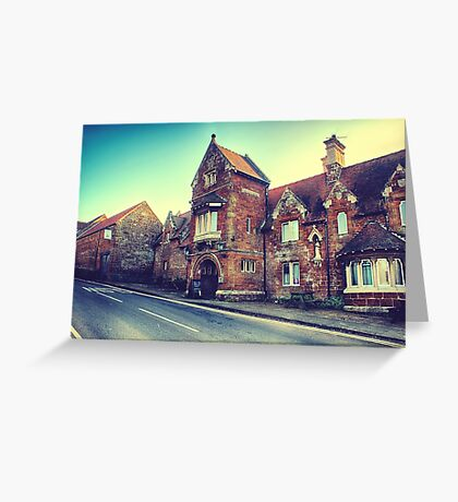 Oldest Pub in England Greeting Card