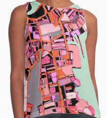 ABSTRACT MAP OF SALEM Sleeveless Top
