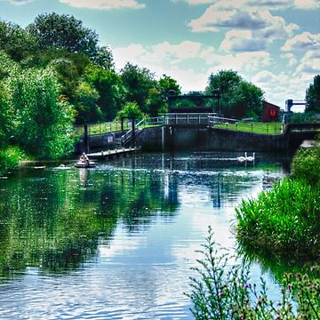 Ditchford Lock (England) by InspiraImage