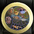 Mandala Mixed Media by Sandra Gray