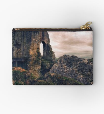 Defeated by Time Zipper Pouch