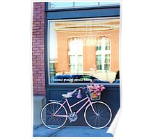 bike and store front Poster