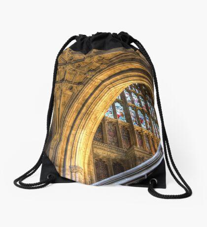 Golden Arch Drawstring Bag