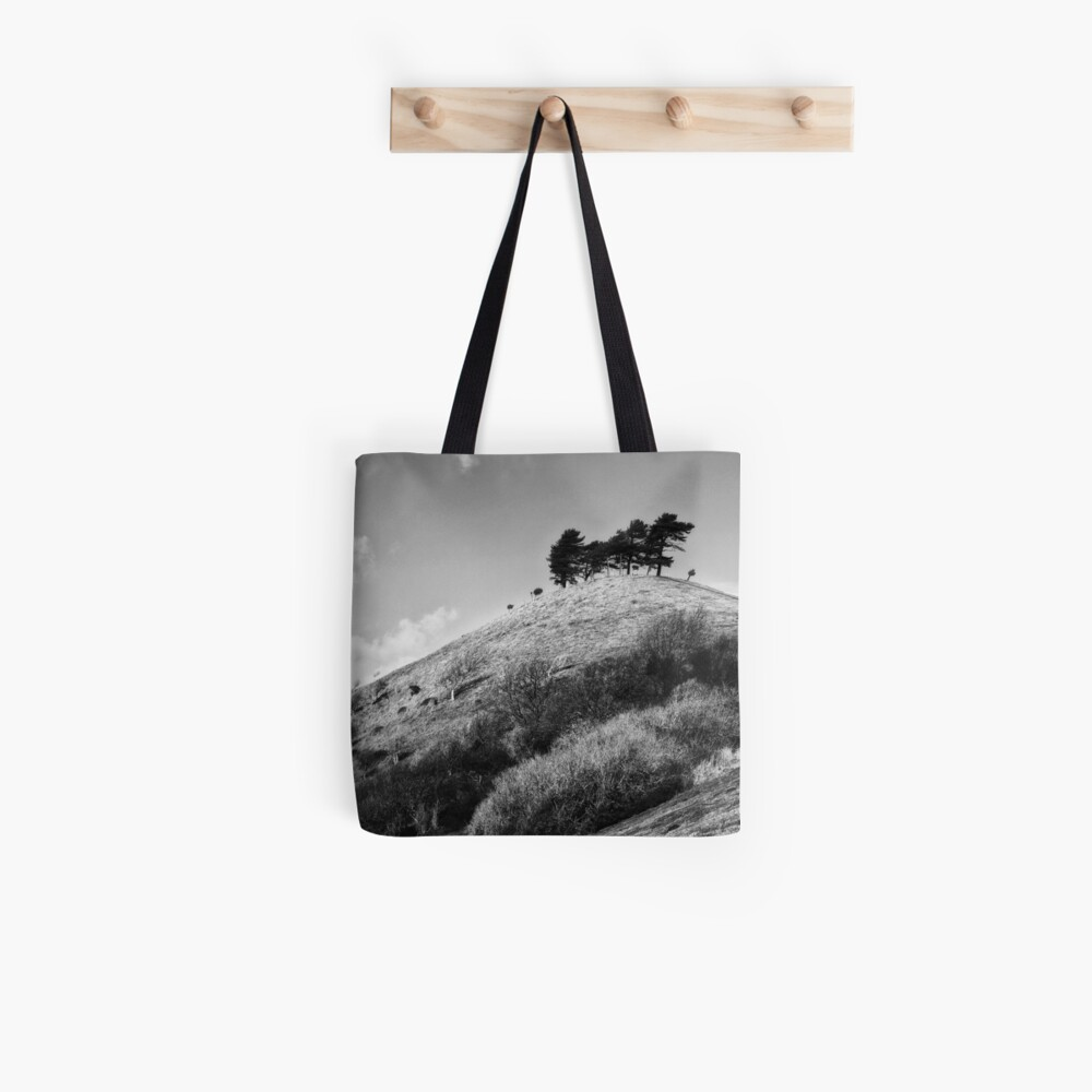Colmers Hill -  Black and white Tote Bag