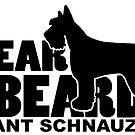 Fear the Beard - Giant Schnauzer by traciwithani