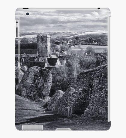 View over Corfe iPad Case/Skin
