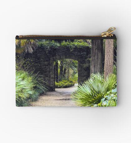 Tropical Pathway Zipper Pouch