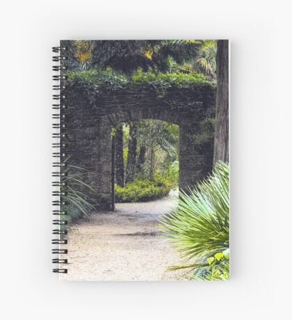 Tropical Pathway Spiral Notebook