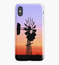 Prairie Dusk iPhone Case