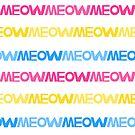Meow Stripes (set 3) by Mannykat8x