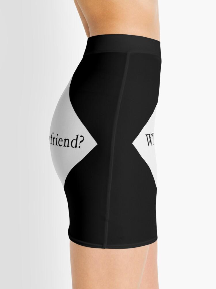 Alternate view of What Boyfriend Single (w) Mini Skirt