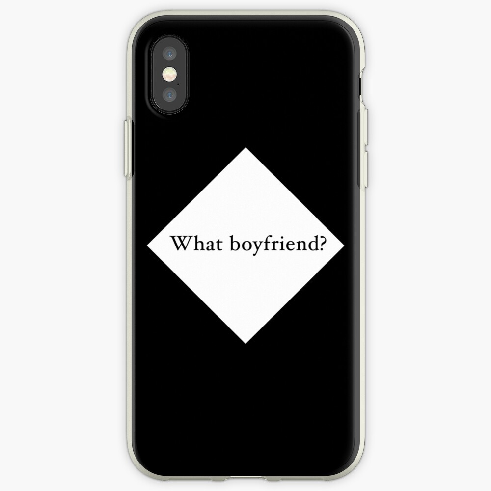 What Boyfriend Single (w) iPhone Cases & Covers