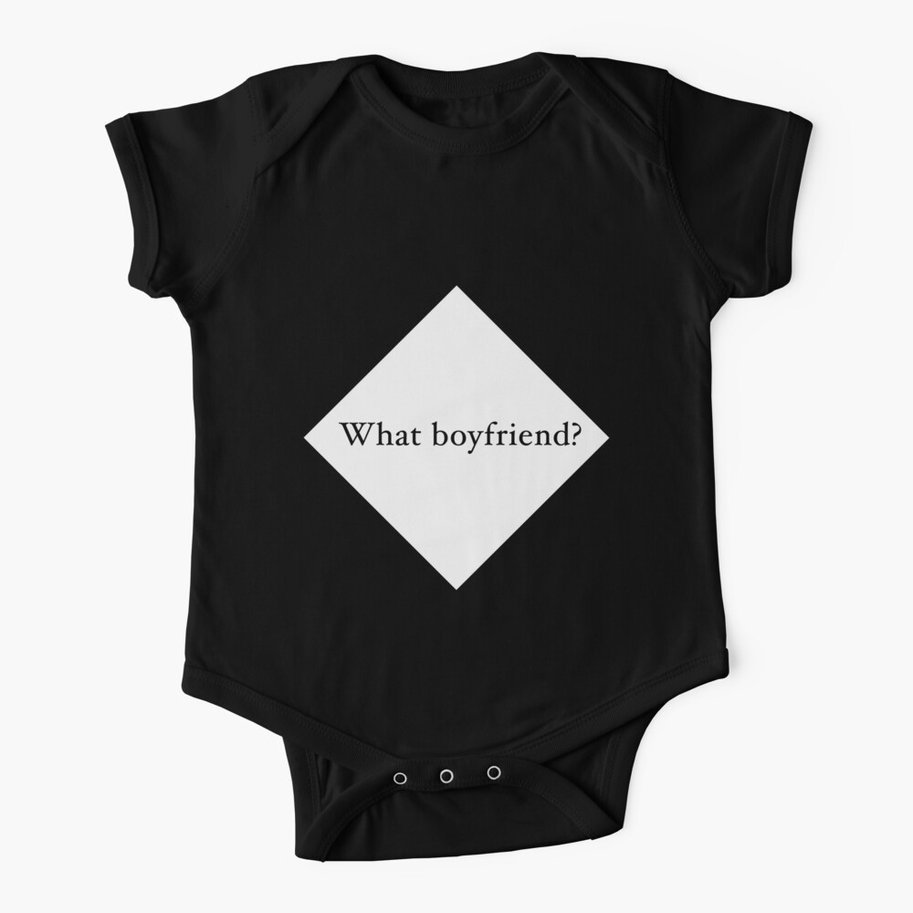 What Boyfriend Single (w) Baby One-Piece