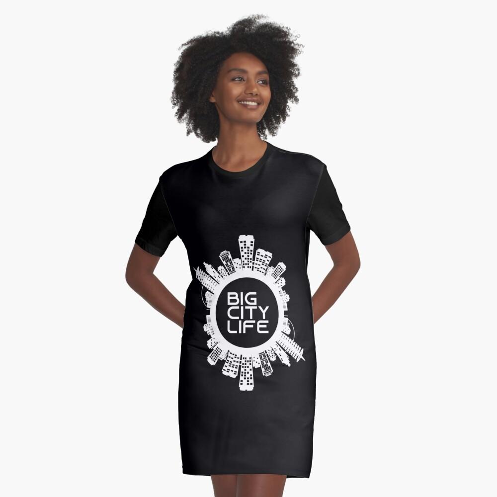 BIG CITY LIFE (w) Graphic T-Shirt Dress