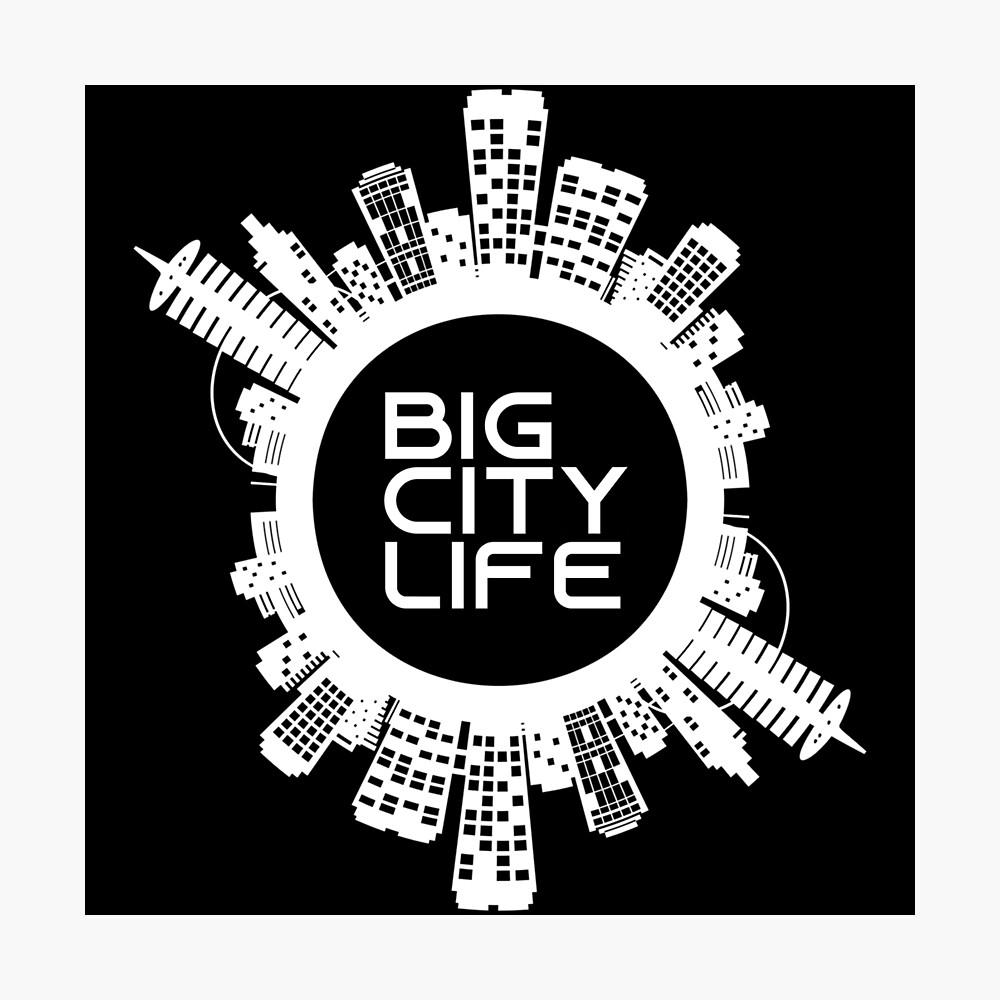 BIG CITY LIFE (w) Photographic Print